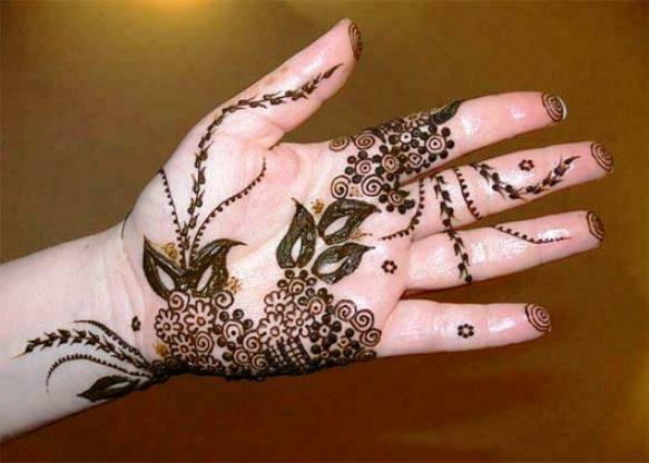 Henna Mehndi New Design : Latest beautiful henna mehndi designs collection  for bridal