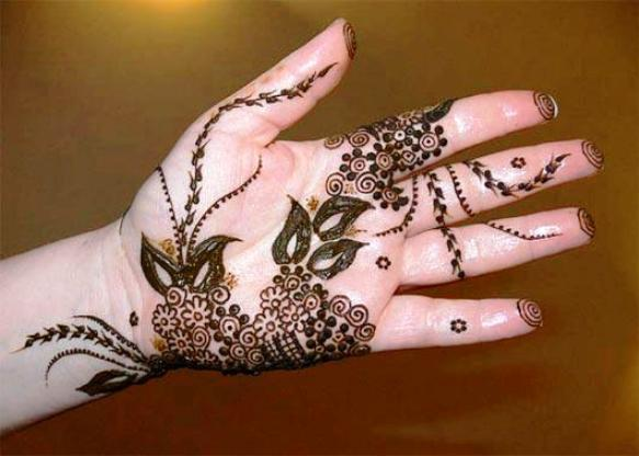 Latest Beautiful Henna Mehndi 2017 2018 new fashion