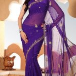Indian Stylish saree dress for girls (9)