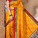 Indian Stylish saree dress for girls (5)Indian Stylish saree dress for girls (5)
