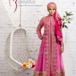 Mansha Latest Spring summer party wear dress collection (9)