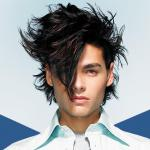Men trendy and stylish hairstyle (2)