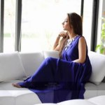 New Spring party wear dress collection by saadia asad (1)