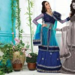 Party wear lehenga choli dress collection (6)
