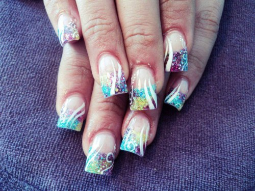 Women trendy Nails style (2)