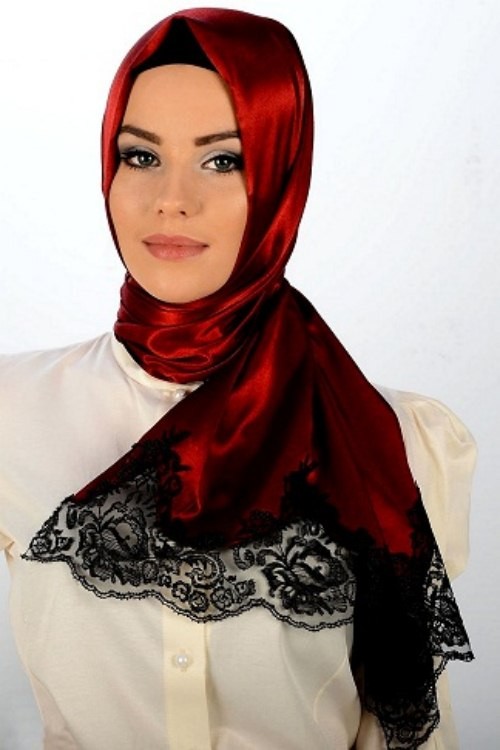 New Arabic Scarf Collection For Girls 2013-2014