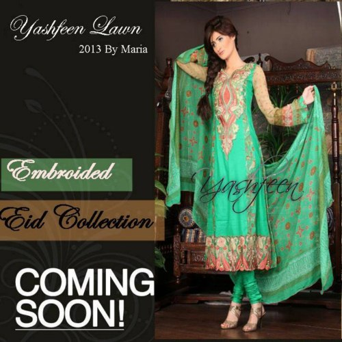 Yasfeen Lawn Eid Collection 2013 (6)