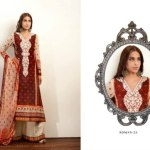 Zaheer Abbas Lawn Collection by Shariq