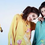 Eid Flower Print Kurta Collection 2013 by Grapes the brand (10)