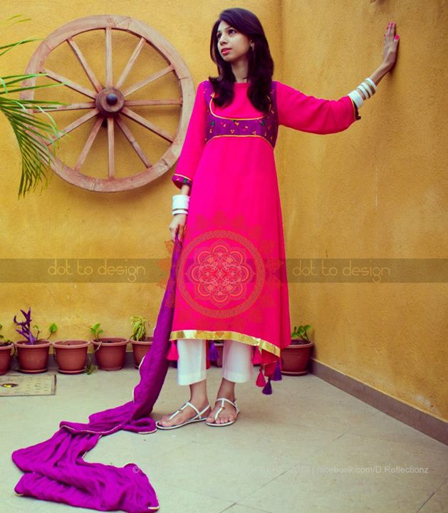 HK-Dot to Design Eid Latest Dresses Collection Summer Collection 2013 (1)