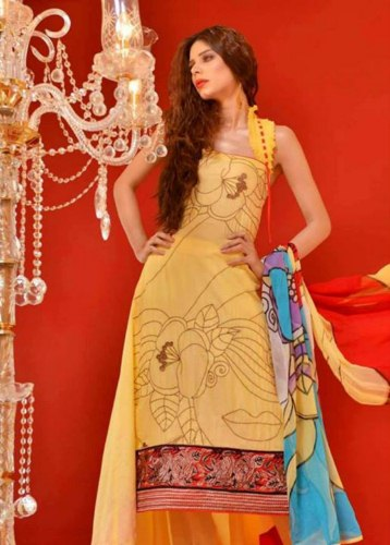Hadiqa Kiani Kamlee Eid dress Collection for girls (3)