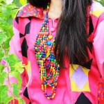 Nabeel & Najia New Eid Dress Collection 2013 For Girls