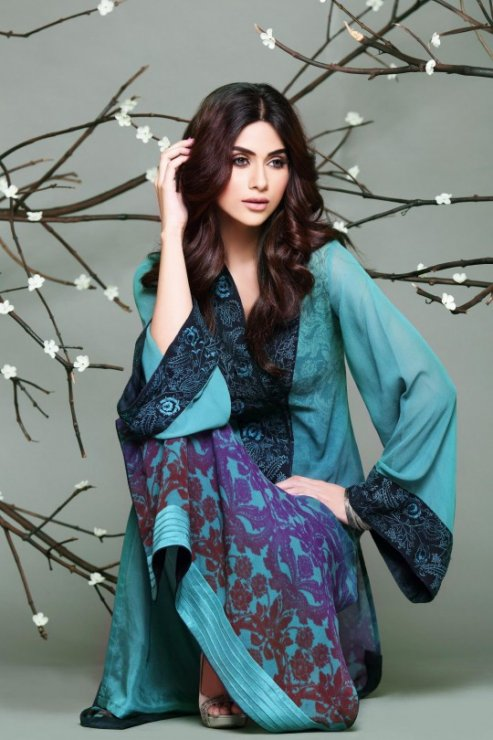 So Kamal Eid Pret Wear Summer Collection 2013 by Zara Shahjahan (4)