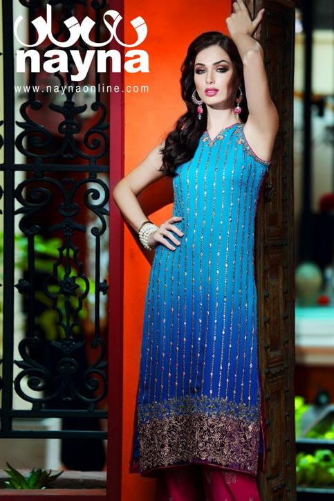 Nayna Formal Wear Dress Collection 2013 for Women (2)
