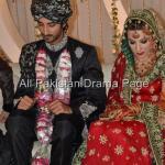 Famous Fashion Model ZAHID TAIMOOR wedding waleema pictures (7)