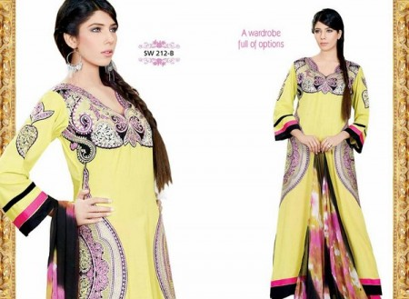 Nation Mid Summer Lawn Collection Formal wear dresses by Riaz Arts (4)