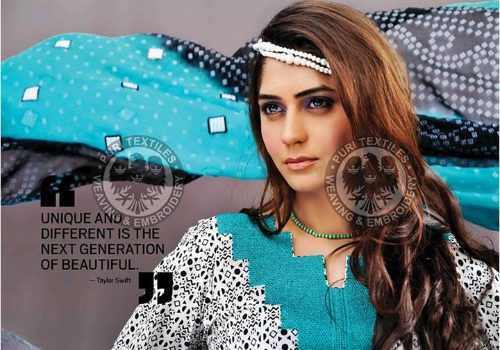 Puri Textiles Casual Wear Dresses 2013 for Girls (11)