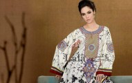 Afreen By Lala Embroidered Winter Dresses 2013 For Women and Girls (2)
