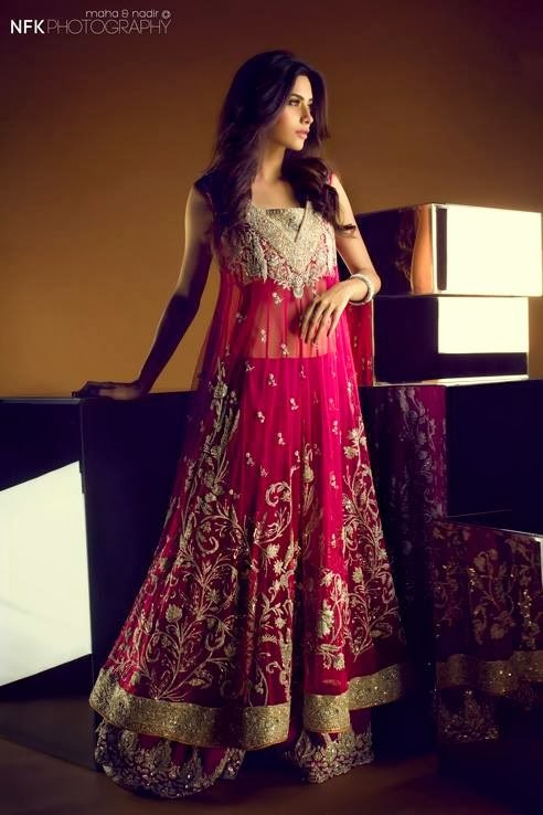 Bridal Wear Collection 2013 by Sania Maskatiya (2)