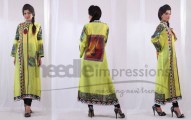 Pakistani Girls Winter Dresses by Needle Impressions (3)