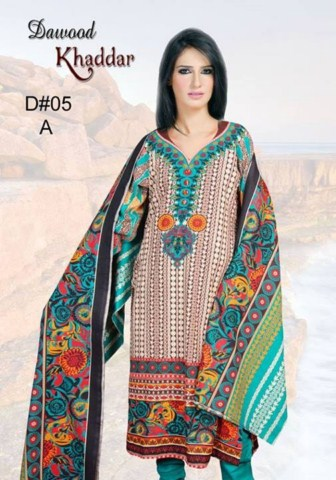 Dawood Textiles Khaddar Dresses 2013 For Women (9)