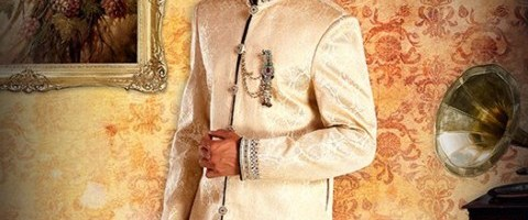 Men Latest Stylish Wedding Kurta Dress Collection by Peter England