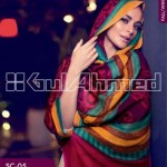 Gul Ahmed Pashmina Scarves Dresses 2013-2014 for Ladies (2)