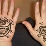 Lovely Kids Mehndi Henna tattoos Hand and feet Designs Collection (13)