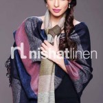 Nishat Linen Best Winter Shawl Collection 2013-14 for Girls (2)