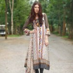 Rabea Designer Embroidered Linen Winter Collection 2013-14 For Women (6)