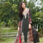 Rabea Linen Girls Khaddar Collection 2013-14 by Shariq Textiles