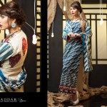 Rabea Linen Khaddar Collection 2013-14 by Shariq Textiles