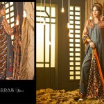 Rabea Linen Women Khaddar Dresses 2013-14 by Shariq Textiles