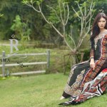 Rabea Linen Women Khaddar Collection 2013-14 by Shariq Textiles