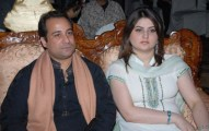 Singer Ustad Rahat Fateh Ali Khan With his Family