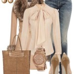 Voguish Polyvore Latest stylish Jackets, jeans, scarves, Winter Accessories