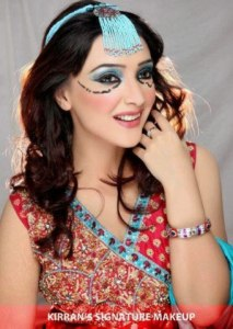 Aamna Karim Actress and Model Pictures in Kirran Signature Makeup (1)