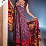 Alkaram studio Resham Twill Linen Embroidery Winter Hues Vol-02 (5)