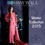 Shehzad Bombaywala Ladies bright silk suits winter collection