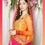 Bridal Mehndi Wedding Waleema Multi Colored Dresses 2014 (11)Bridal Mehndi Wedding Waleema Multi Colored Dresses 2014 (11)