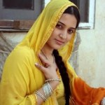 Bridal Mehndi Wedding Waleema Multi Colored Dresses 2014 (6)