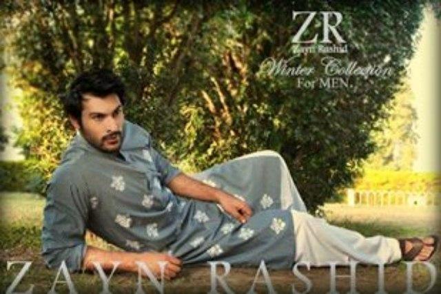 Casual Kurta Shalwar Winter Desi Dresses For Men By Zayn Rashid (3)