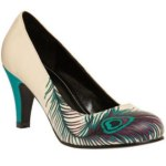 Lovely Elegance Peacock Designs Ladies Shoes Collection 2014 (5)