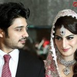 Tv Drama Actor Babar Khan Wedding Pictures with Sana Khan (3)
