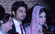 Tv Drama Actor Babar Khan Wedding Pictures with Sana Khan (7)