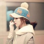 Knitted Caps Women Latest Fashionable Style 2014