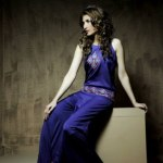 Wajahat Mansoor Winter Outfits For Women Fashion 2014 (2)