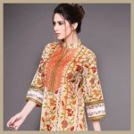 Yashir Waheed stylish ladies summer spring 2014 dresses
