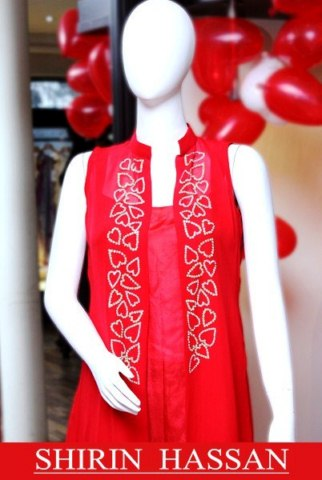 collection valentines day day women smart dresses by shirin hassan