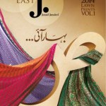 lawn collection 2014 for girls by Junaid jamshed